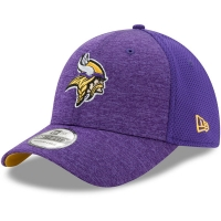Minnesota Vikings nfl new era flex shadowed спортивная бейсболка фиолетовая
