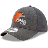 Cleveland Browns nfl new era flex shadowed спортивная бейсболка серая