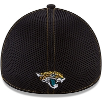 Jacksonville Jaguars nfl new era flex neo спортивная бейсболка черная
