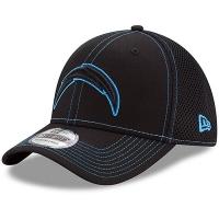 Los Angeles Chargers nfl new era flex neo спортивная бейсболка черная