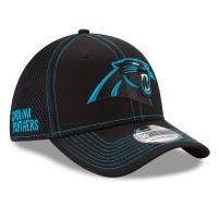 Carolina Panthers nfl new era flex neo спортивная бейсболка черная