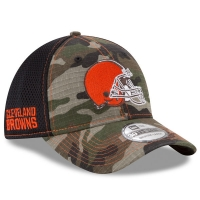 Cleveland Browns nfl new era flex neo спортивная бейсболка камуфляжная