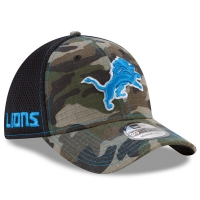 Detroit Lions nfl new era flex neo спортивная бейсболка камуфляжная