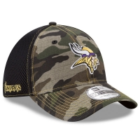 Minnesota Vikings nfl new era flex neo спортивная бейсболка камуфляжная