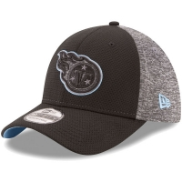 Tennessee Titans nfl new era flex fierce спортивная бейсболка черная