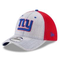 New York Giants nfl new era flex neo спортивная бейсболка серая