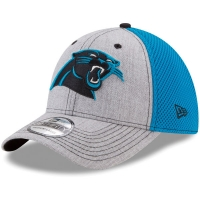 Carolina Panthers nfl new era flex neo спортивная бейсболка серо-голубая