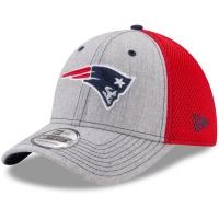 New England Patriots nfl new era flex neo спортивная бейсболка серая