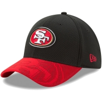 San Francisco 49ers nfl new era flex maze спортивная бейсболка черная