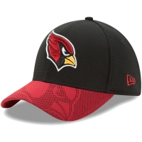 Arizona Cardinals nfl new era flex maze спортивная бейсболка черная