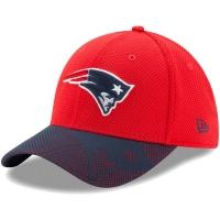 New England Patriots nfl new era flex maze спортивная бейсболка красная
