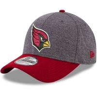 Arizona Cardinals nfl new era flex heathered спортивная бейсболка серая