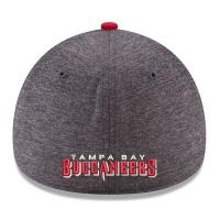 Tampa Bay Buccaneers nfl new era flex shadow спортивная бейсболка серая