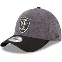 Oakland Raiders nfl new era flex historic спортивная бейсболка серая