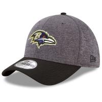 Baltimore Ravens nfl new era flex shadow спортивная бейсболка серая