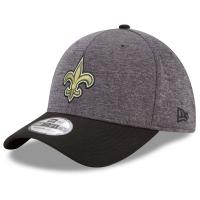 New Orleans Saints nfl new era flex shadow спортивная бейсболка серая