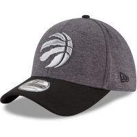 Toronto Raptors nba new era flex-fit heathered спортивная бейсболка серая