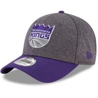 Sacramento Kings nba new era flex-fit heathered спортивная бейсболка серая