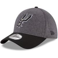 San Antonio Spurs nba new era flex-fit heathered спортивная бейсболка серая