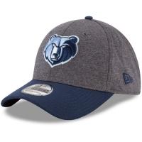 Memphis Grizzlies nba new era flex-fit heathered спортивная бейсболка серая