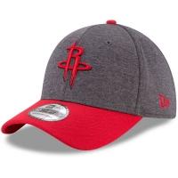 Houston Rockets nba new era flex-fit heathered спортивная бейсболка серая