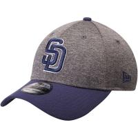 San Diego Padres mlb new era flex shadow спортивная бейсболка серая