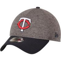 Minnesota Twins mlb new era flex shadow спортивная бейсболка серая