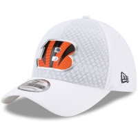 Cincinnati Bengals nfl new era flex color спортивная бейсболка белая