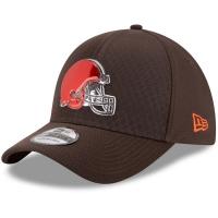 Cleveland Browns nfl new era flex color спортивная бейсболка коричневая