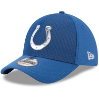 Indianapolis Colts nfl new era flex color спортивная бейсболка синяя