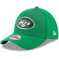 New York Jets nfl new era flex color спортивная бейсболка зеленая
