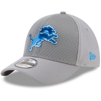Detroit Lions nfl new era flex color спортивная бейсболка серая