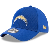 Los Angeles Chargers nfl new era flex color спортивная бейсболка синяя