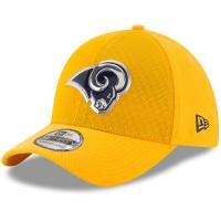 Los Angeles Rams nfl new era flex color спортивная бейсболка желтая