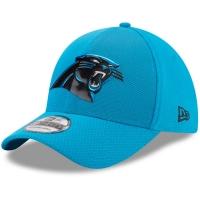 Carolina Panthers nfl new era flex color спортивная бейсболка голубая