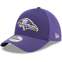 Baltimore Ravens nfl new era flex color спортивная бейсболка фиолетовая