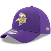 Minnesota Vikings nfl new era flex color спортивная бейсболка фиолетовая