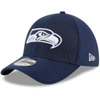 Seattle Seahawks nfl new era flex color спортивная бейсболка темно-синяя