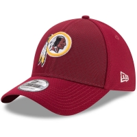 Washington Redskins nfl new era flex color спортивная бейсболка бордовая
