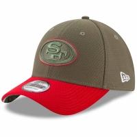 San Francisco 49ers nfl new era flex usa спортивная бейсболка хаки