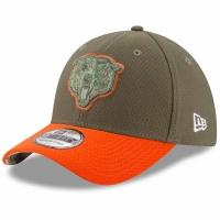 Chicago Bears nfl new era flex usa спортивная бейсболка хаки