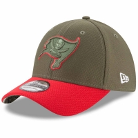 Tampa Bay Buccaneers nfl new era flex usa спортивная бейсболка хаки