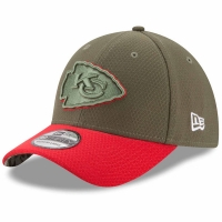 Kansas City Chiefs nfl new era usa спортивная бейсболка хаки