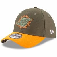 Miami Dolphins nfl new era flex usa спортивная бейсболка хаки