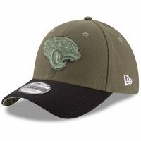 Jacksonville Jaguars nfl new era flex usa спортивная бейсболка хаки