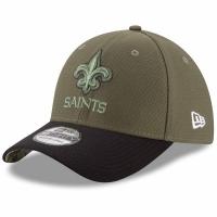 New Orleans Saints nfl new era flex usa спортивная бейсболка хаки