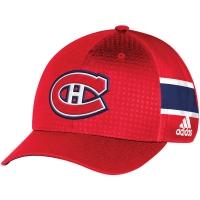 Montreal Canadiens nhl adidas flex-fit draft хоккейная бейсболка красная