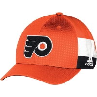 Philadelphia Flyers nhl adidas flex-fit draft хоккейная бейсболка оранжевая