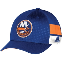 New York Islanders nhl adidas flex-fit draft хоккейная бейсболка синяя