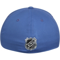 Vancouver Canucks nhl adidas flex-fit on ice хоккейная бейсболка синяя